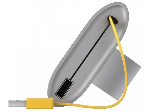 Портативная акустика HP Roar Travel Bluetooth, жёлтый/серый, вид 3