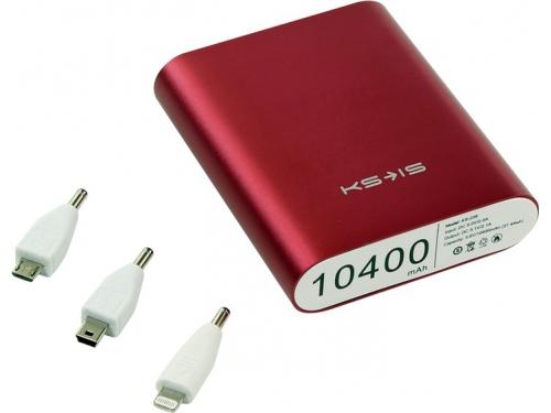 Аксессуар для телефона KS-IS KS-239 10400mAh, красный, вид 1