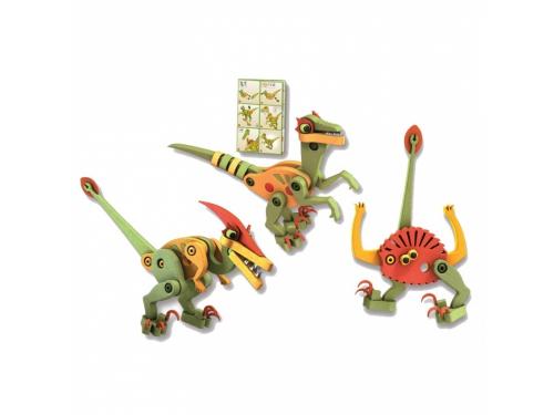 Конструктор Bloco Динозавры: Велоцераптор и Птерозавр (30131), вид 2