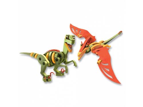 Конструктор Bloco Динозавры: Велоцераптор и Птерозавр (30131), вид 3