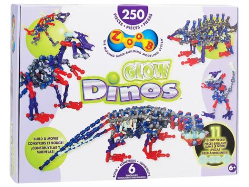 Конструктор Zoob 14004 Светящиеся динозавры, вид 3