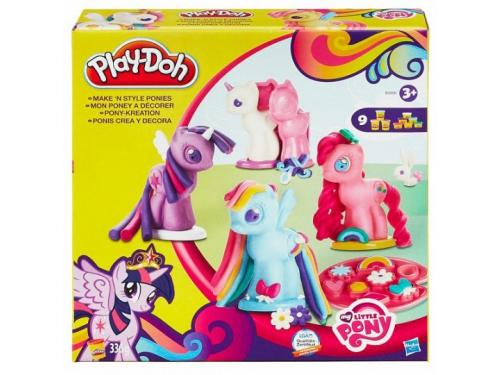 Товар для детей Hasbro Play-Doh Игровой набор Создай любимую Пони, вид 1