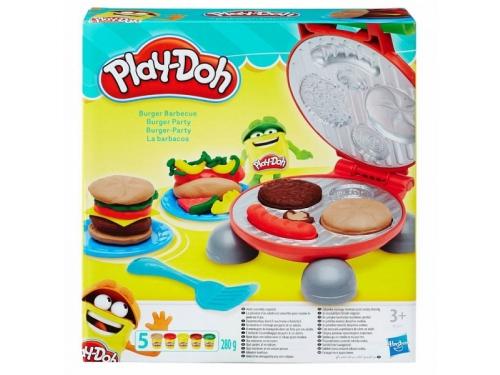Товар для детей Hasbro Play-Doh Игровой набор Бургер гриль, вид 1