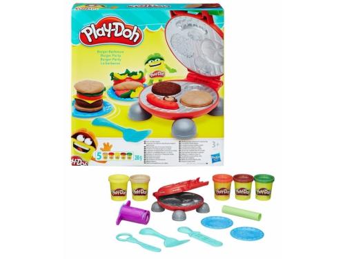 Товар для детей Hasbro Play-Doh Игровой набор Бургер гриль, вид 2