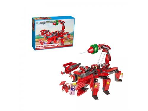 Конструктор 1toy Робосамураи робот-скорпион, вид 1