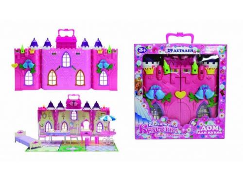 Товар для детей Дом для кукол с мебелью 1toy Красотка 29 деталей, вид 1