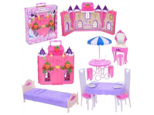 Товар для детей Замок для кукол 1toy Красотка