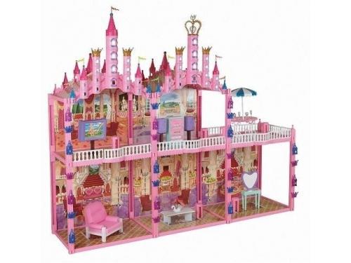 Игровое устройство Замок для кукол 1toy Красотка 187 деталей, вид 1
