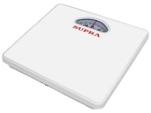 Напольные весы Supra BSS-4061, белые, вид 1