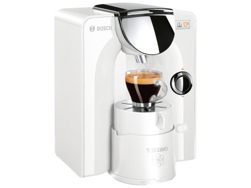 Кофемашина Bosch TAS5544EE Tassimo, белая, вид 1