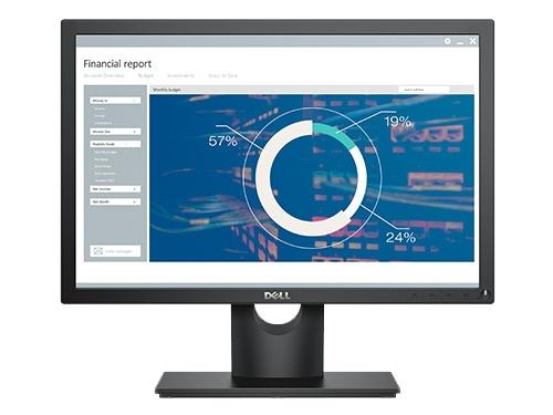 Монитор Dell E2016, черный, вид 1