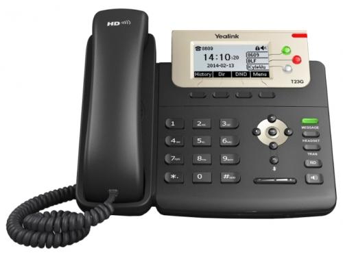Проводной телефон Yealink SIP T23G, вид 1