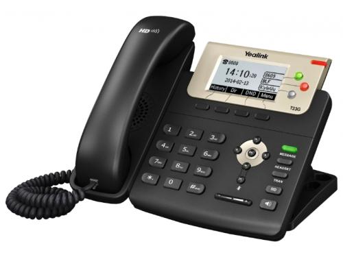 Проводной телефон Yealink SIP T23G, вид 2
