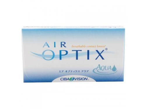 Контактные линзы Alcon Air Optix Aqua, 3 шт, R: 8.6, D: -3.5, вид 1