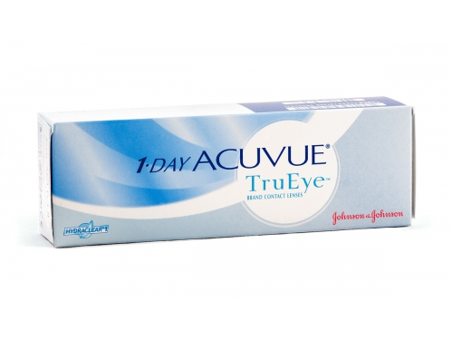 Контактные линзы Johnson&Johnson 1-Day Acuvue TruEye, R: 8.5, D: -2.75, 30 шт., вид 1
