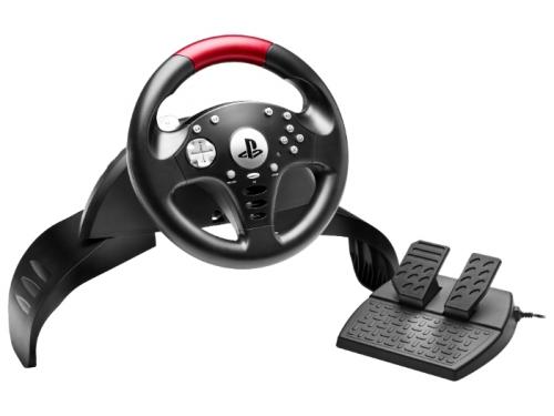 Игровое устройство ThrustMaster T60 Racing PS3 Official Sony Licence черный, вид 1