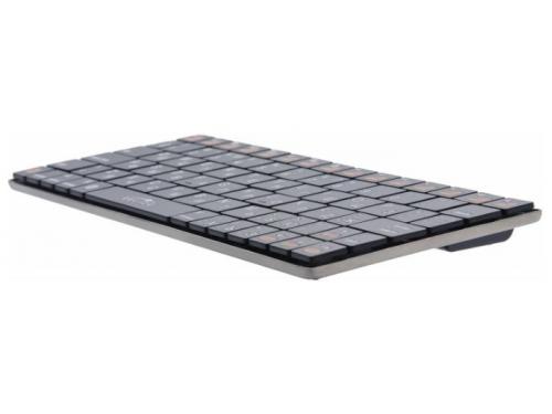 Клавиатура Oklick 840S Wireless Keyboard Black Bluetooth, вид 3