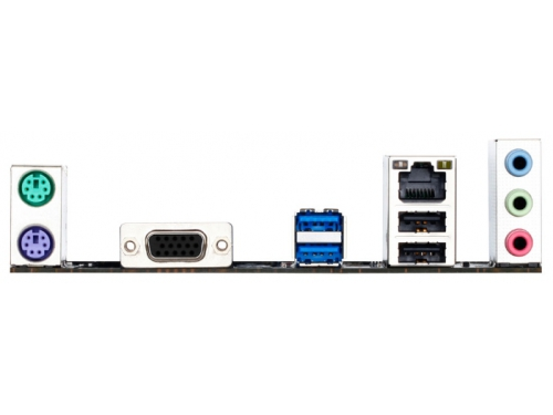 Материнская плата Gigabyte GA-H81M-S1 (rev. 1.0), (2xDDRIII, mATX, SATA3, LAN-Gbt, USB3.0), вид 3