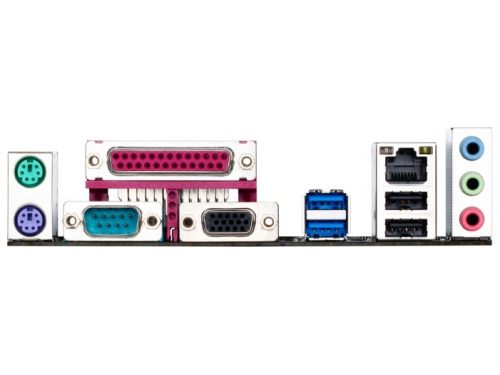 Материнская плата Gigabyte GA-H81M-DS2 Soc-1150 H81 2*DDRIII mATX SATA3  LAN-Gbt USB3.0, вид 2