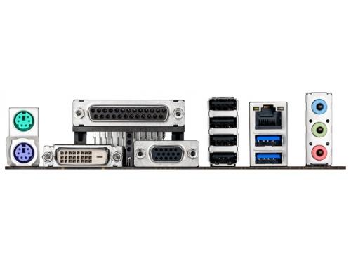 Материнская плата ASUS H81M-C Soc-1150 H81 DDRIII mATX SATA3  LAN-Gbt USB3.0, вид 3