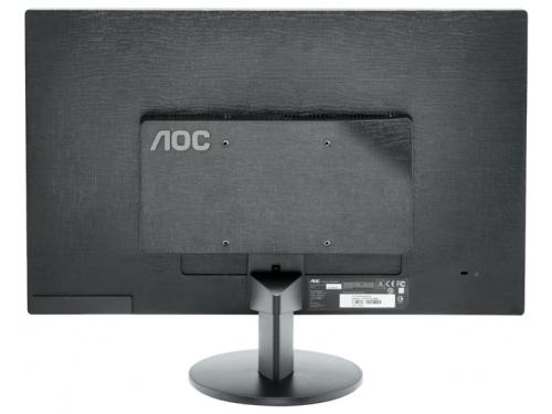 Монитор AOC E2470SWH/01, Чёрный, вид 3