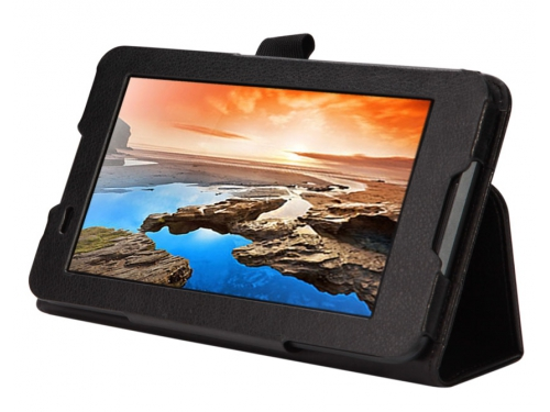 Чехол для планшета IT Baggage для планшета Lenovo IdeaTab A3300, искус.кожа, черный, вид 4