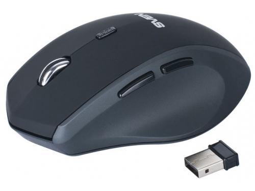 Мышь Sven RX-525 Silent Wireless, черная, вид 1