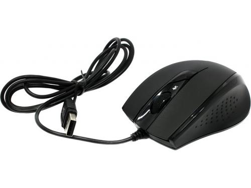 Мышь A4Tech N-600X-1 USB, черная, вид 1