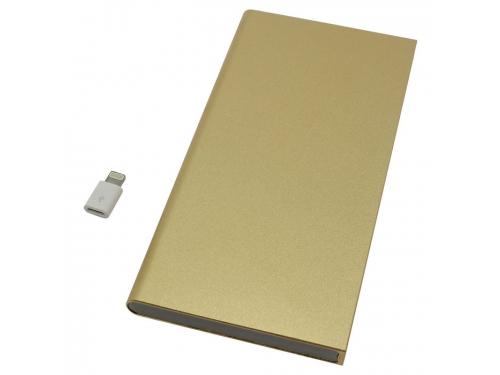 Аккумулятор универсальный KS-IS KS-279 10000mAh, золотистый, вид 2