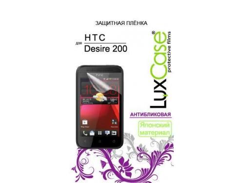 Защитная пленка для смартфона LuxCase для HTC Desire 200 антибликовая, вид 1