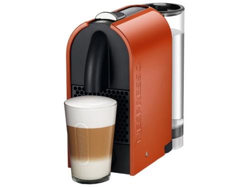 Кофемашина Delonghi EN 110 Nespresso, оранжевая, вид 1