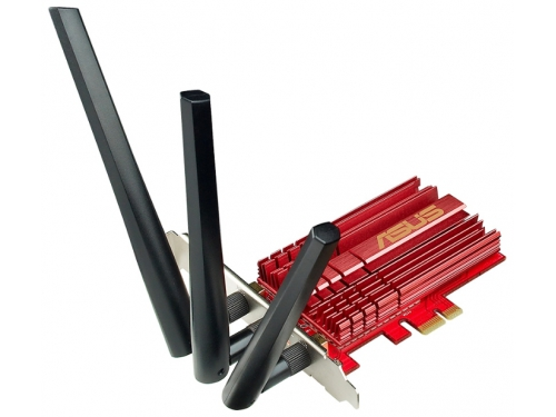 Адаптер Wi-Fi ASUS PCE-AC68, вид 1