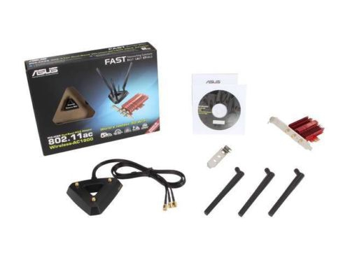 Адаптер Wi-Fi ASUS PCE-AC68, вид 14
