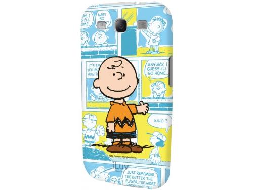 Чехол для смартфона iLuv для Samsung Galaxy S III Snoopy Charater Series blue, вид 1
