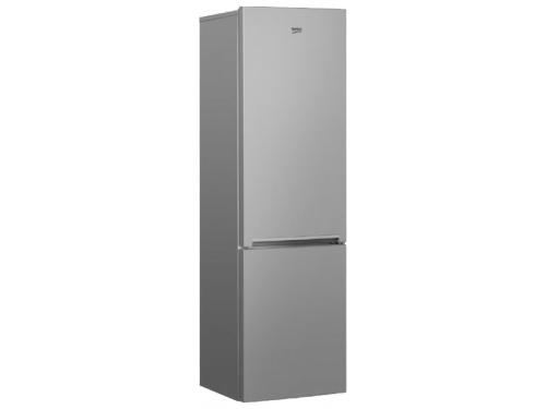 Холодильник Beko RCNK356K00S, серебристый, вид 1