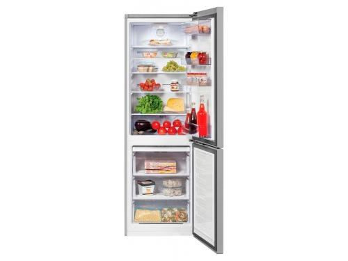 Холодильник Beko RCNK356K00S, серебристый, вид 2
