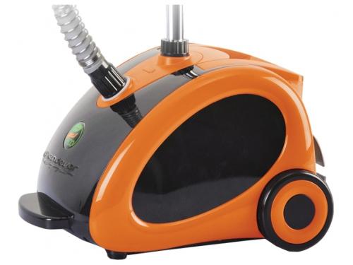 Пароочиститель-отпариватель Endever Odyssey Q-506,  оранжевo-черный, вид 1