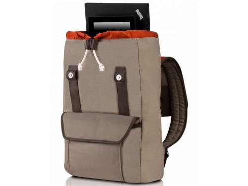Сумка для ноутбука Lenovo Casual Backpack, бежевая, вид 1
