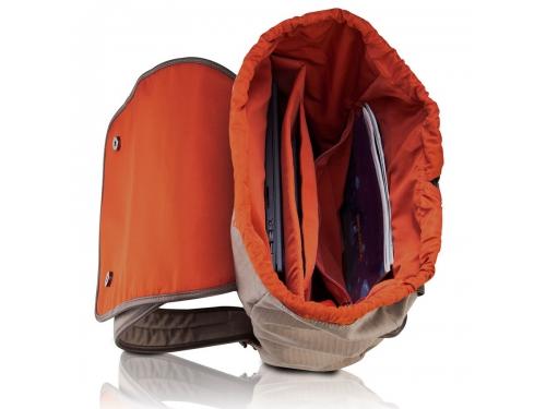 Сумка для ноутбука Lenovo Casual Backpack, бежевая, вид 3