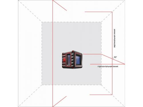 Нивелир ADA Cube 3D Home Edition (а00383), лазерный, вид 4