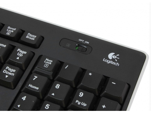 Клавиатура Logitech Wireless Keyboard K270 Black USB, вид 12