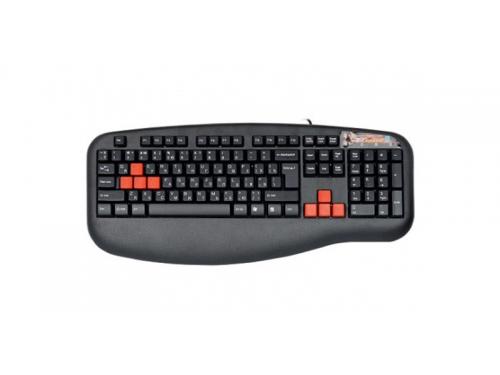 Клавиатура A4Tech X7-G600 Black PS/2, вид 3
