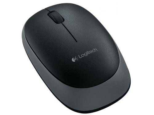 Мышка Logitech M165 black wireless USB, вид 2