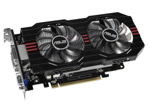 Видеокарта GeForce ASUS GeForce GTX 750 Ti 1072Mhz PCI-E 3.0 2048Mb 5400Mhz 128 bit 2xDVI HDMI HDCP, вид 1