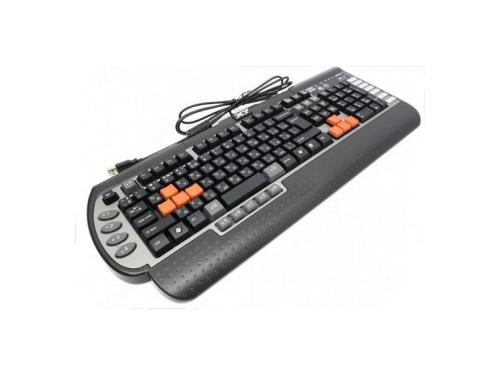 Клавиатура A4Tech X7-G800 Black-Silver PS/2, вид 2
