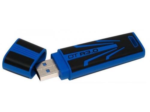 Usb-флешка Flash Drive 32 Gb Kingston DataTraveler R3 HighSpeed USB3.0 Black/Blue, вид 1