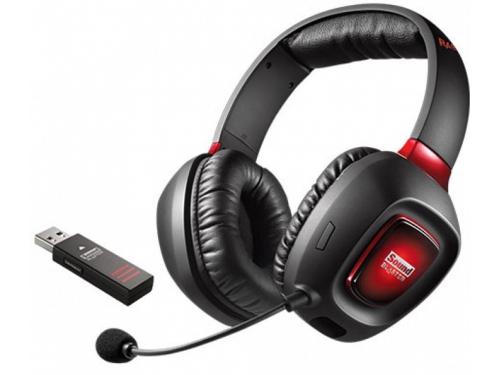 Гарнитура для ПК Creative Sound Blaster Tactic3D Rage Wireless, черная / красная, вид 1