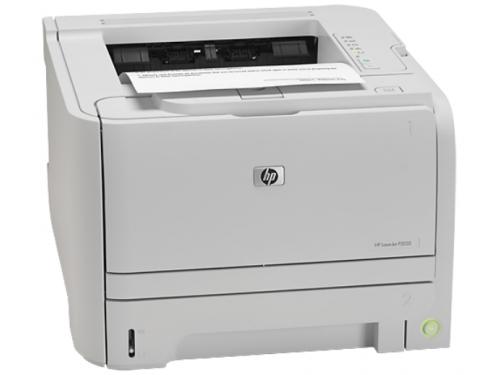 Принтер лазерный ч/б HP LaserJet P2035 White, вид 2