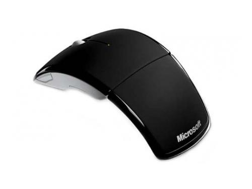 Мышка Microsoft Arc mouse USB Black , вид 2