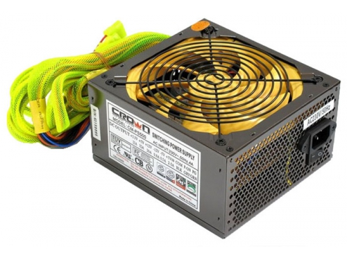 ���� ������� CROWN CM-PS500 500W smart fan 120mm, ��� 3